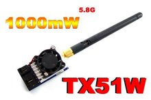 New arrive,mini wireless FPV 5.8G 1000mW audio and vedio A/V Transmitter Module fvp TX for rc Aircraft Multicopter