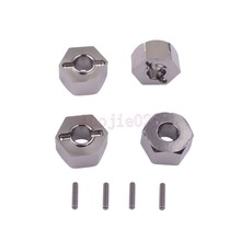 7.0 12mm Wheel Hex Mount& Pin RC 1/10 Traxxas Slash 4x4 Truck 3654 Upgrade Parts(China)