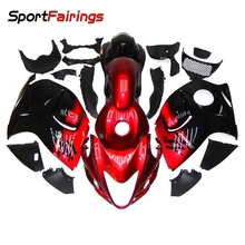 Full Fairings For Suzuki GSXR1300 Hayabusa Year 08-14 2008 2009 2012 2014 ABS Motorcycle Fairing Kit Cowling Injection Red New