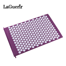 Yoga Mat Massage Cushion Acupressure Mat Relieve Stress Pain Acupuncture Spike Yoga Mat Natural Relief Stress Pain Tension Spike(China)