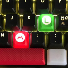 Mario Game OEM Keyboard Caps M L ABS Keycaps for Game Mechanical Keyboard