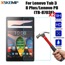 Buy XSKEMP 2Pcs/Lot Tempered Glass Screen Protector Lenovo Tab 3 8 Plus/Lenovo P8 (TB-8703F) Tablet Safety Protective Guard Film for $4.20 in AliExpress store
