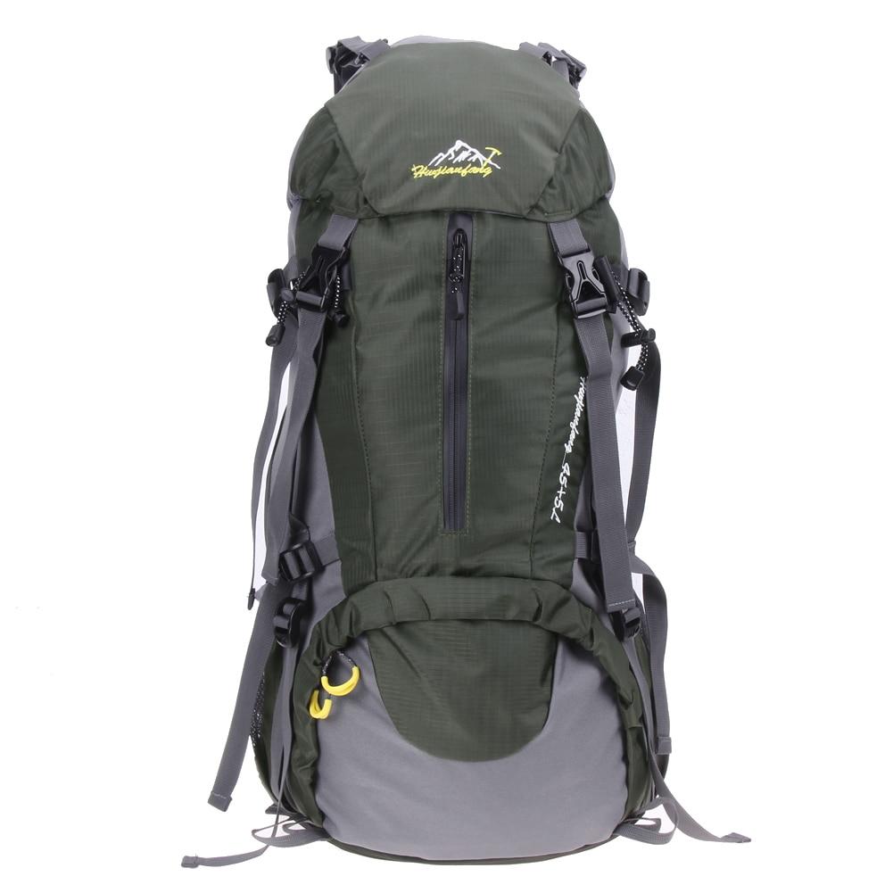 50L Sport Bag Backpack Outdoor Climbing Rucksack Waterproof Mountaineering Hiking Travel Backpacks Big Capacity Camping bag <br>
