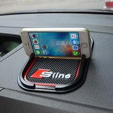 Super Sticky Pad Car Phone GPS for  Q5 Q7 A1 A3 A4 A5 AUDI A6 All Series Car Accessories Car Styling