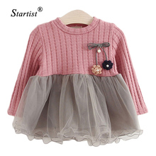 Startist Baby Cardigan Dress Spring Baby Dress For Infants Princess Dress Lace Baby Dresses Girls Clothes Vestido Infantil