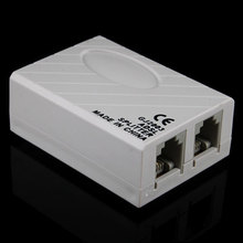 Telephone RJ11 Line ADSL Modem Broadband Phone Line Filter Splitter #257