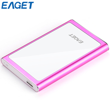 100% Original Eaget G90 2.5 Ultra-thin USB 3.0 Portable High Speed USB 3.0 External Hard Drive 500GB 1TB Shockproof Mobile HDD
