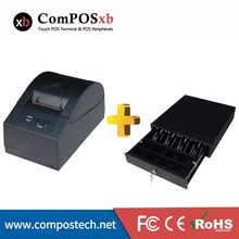 Free combination of printer and box can be connected to the POS machine     5870/EK330