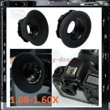 1.08-1.6X Viewfinder Magnifier Eyepiece Eyecup Adjustable Zoom Magnifying For Canon Nikon Olympus Pentax
