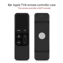 Vococal Silicone Protective Case Cover Skin Sleeve with Lanyard Strap for Apple TV 4th Generation 4 Gen Siri Remote Controller