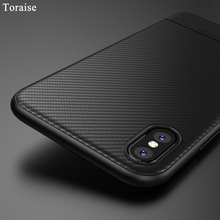 Buy Toraise Soft TPU Case iPhone X Case iphone 8 Carbon Fiber Thin Silicone Case iPhone 7 8 Plus cover iPhone 6s 6Plus for $3.89 in AliExpress store