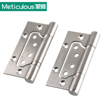 Meticulous Thickness 3mm Door Hinges 4 inch Ball Bearing Hinge 101mm Stainless Steel Furniture Gate Hinge Brushed Sub-mother(China)
