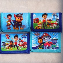 1pc Pawed Patrolling Dog Wallet Mini Coin Purse Sunshine Gift Kid Boy Birthday Event Gift Party Favor