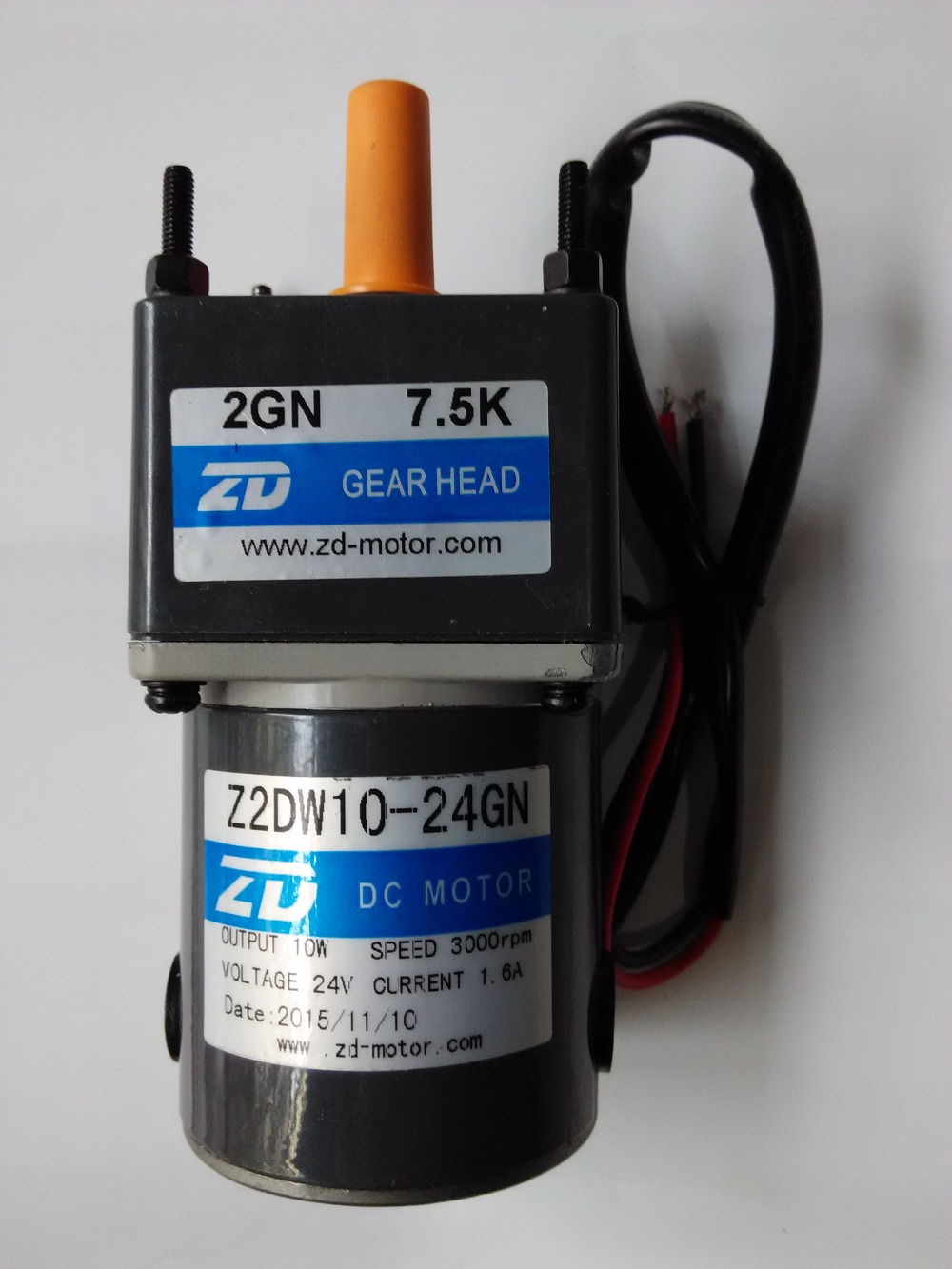 mini 10W 24V DC external brushed motor dc geared motor Micro gear reduction motors use for car fan DC motor with 1:60 gearbox<br>