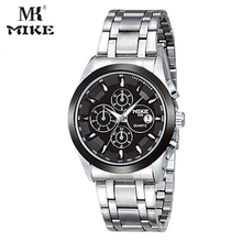 MK Mike Business Watch Mens orologi top brand di lusso Wrist watch Stainless steel Waterproof relogio masculino horloges mannen