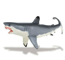Super Great White Shark Model Marine Biological Model Toy Teaching Model Photography Props Action Figures Kids Gift Home Decor