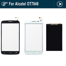 For Alcatel One Touch POP C7 7040 7040D 7040A 7041D LCD Display Panel Screen Monitor with Touch Screen Digitizer Glass Sensor