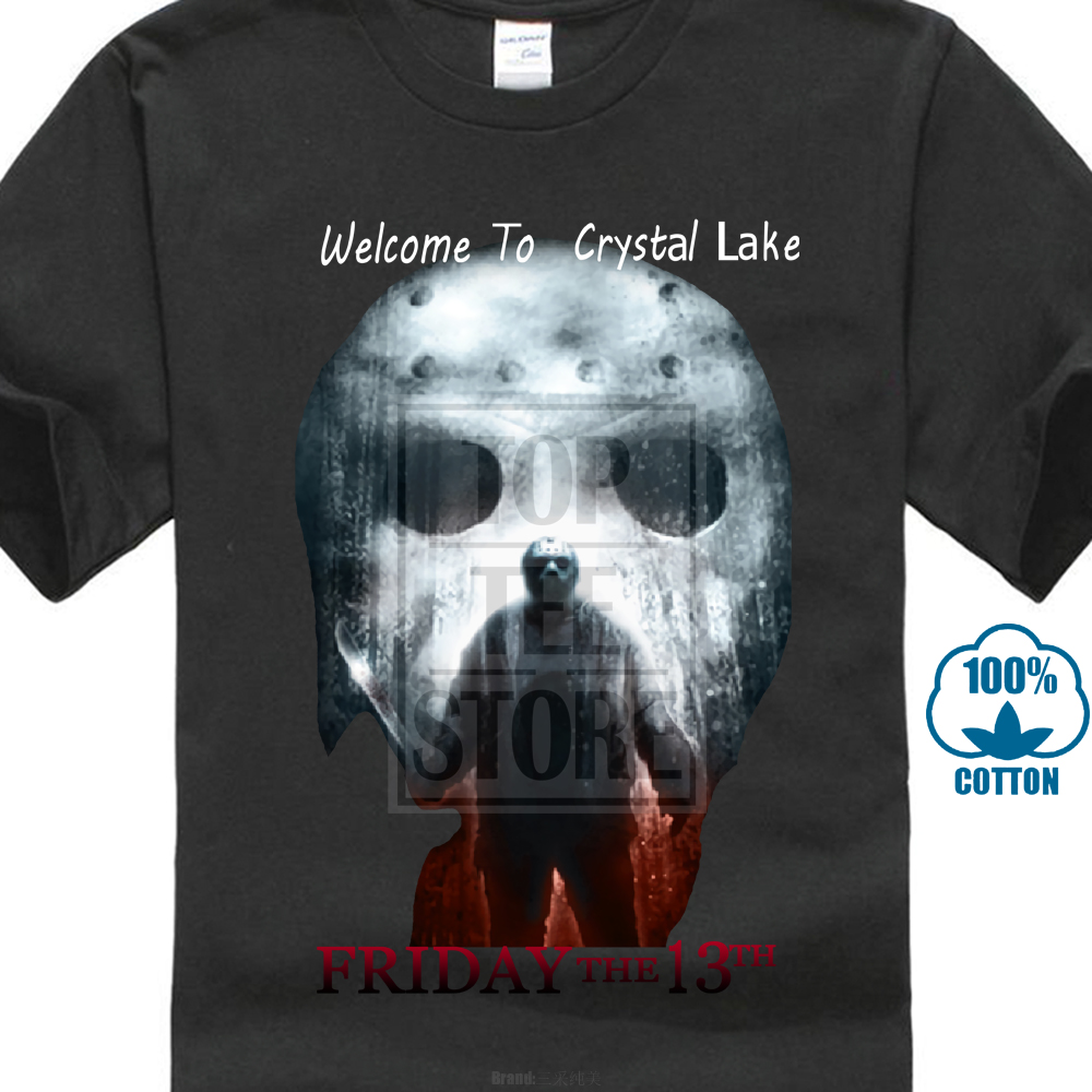 Friday the 13th Movie JASON LIVES with Axe Adult Long Sleeve T-Shirt S-3XL
