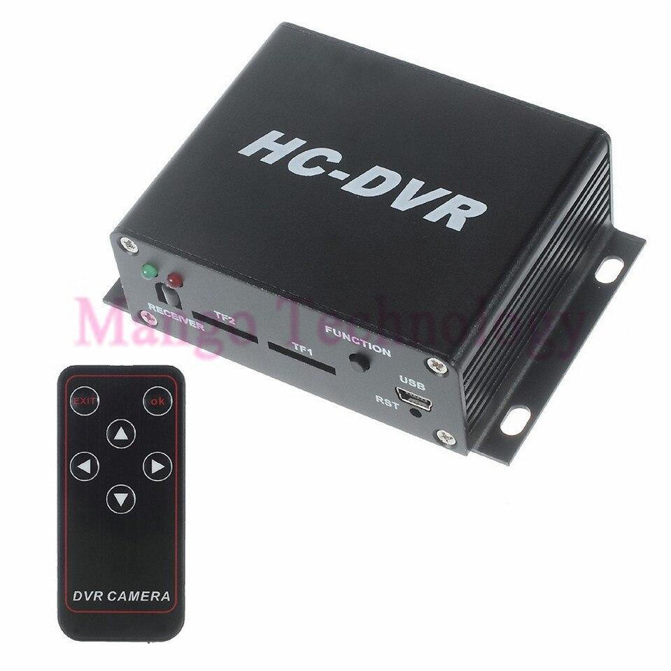HC-DVR Dual Card 128GB Large Storage TF / SD Card Mini DVR 1CH Video+1CH Audio H.264 HDMI USB CCTV Camera Video Recorder C-DVR<br><br>Aliexpress
