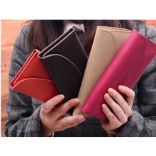 Women Wallets Long female Leather envelope wallet boifold Clutch Purses card holder arteiras femininas billeteras muje vy