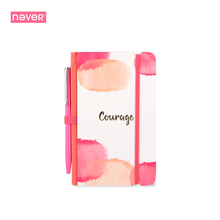 Never Watercolor Collection Mini Notebook Set Portable Notebook Blank Sketchbook Office Accessories Creative Gift Stationery(China)