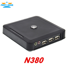 Thin Client N380 Computers with Windows Embeded CE 6.0 1 COM port 3 USB Black Color