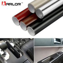 30*100cm Leather Pattern Adhesive PVC Vinyl Film Sticker Auto Car Internal External Decoration Vinyl Wrap Decal Car-Styling