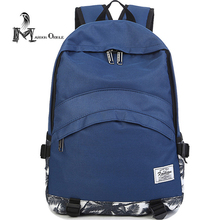 2017 women printed backpack school bag college korean high fashion blue backpack with laptop layers for ladies