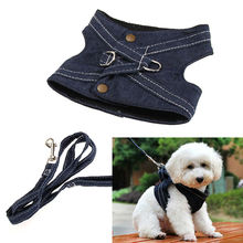 Practical Canvas Pet Dog Vest Type Traction Rope Dog Puppy Walking Tool Leash Lead Safe Harnesh