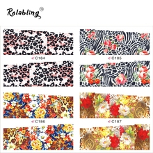 2017 New Arrival Painting Series Beautiful Flower Nail Sticker Manicure Products Nail Art Water Decals Decorations For Nails
