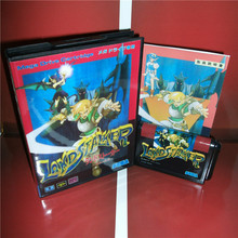 Land Stalker(Chinese language) Japan Cover with box and manual For Sega Megadrive Genesis Video Game Console 16 bit MD card(China)