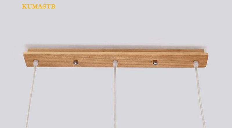 Wood Spring Pendant Lamp 15