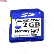 2G 2GB SD Secure Digital Flash Memory Card For Camera GPS