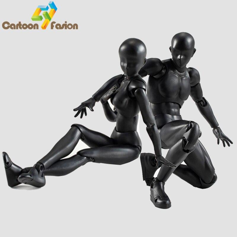 6 Types 2 Colors SHFiguarts Body Chan Body Kun Black Skin Color Ver PVC Action Figure Collectible Model Toy<br><br>Aliexpress