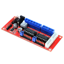 Buy Smart Electronics 4 DC Motor Driver Module / 4WD Car/ L293D Module Smart Car Robot arduino Diy Kit for $3.65 in AliExpress store