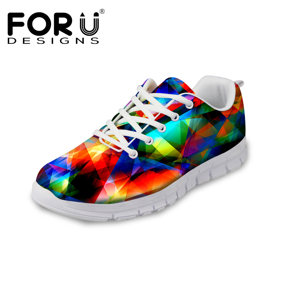 FORUDESIGNS 2017 Spring Summer Womens Casual Shoes Women Breathable Walking Shoes Flats For Teenage Girls Ladies Zapatos Mujer<br>