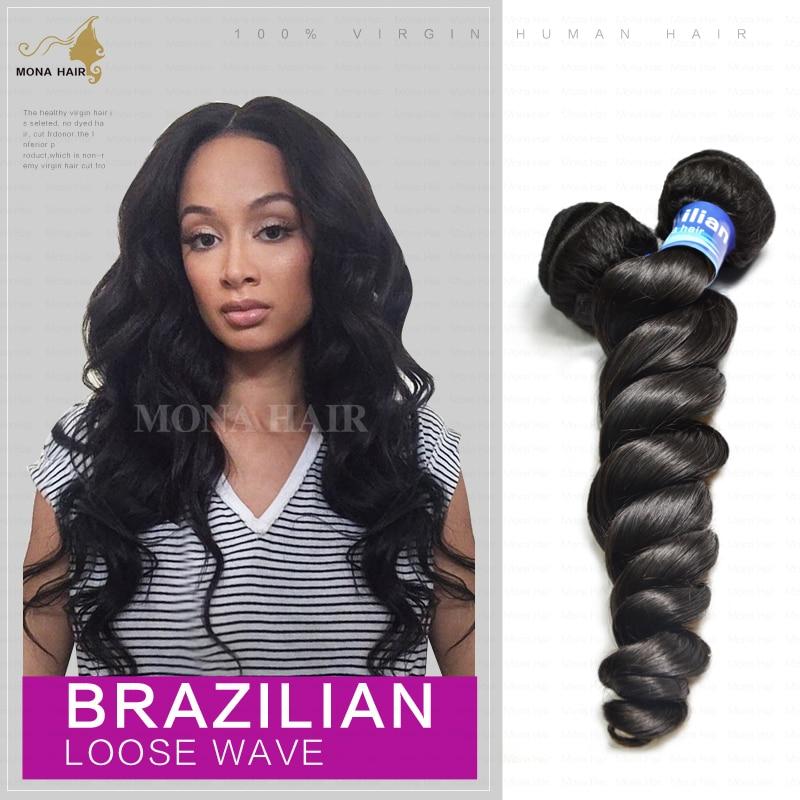 cheap brazilian hair free shipping mixed lot 1pcs/lot 10inch-22inch unprocessed cheap virgin brazilian hair loose wave<br><br>Aliexpress