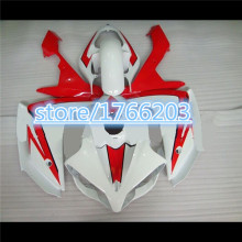 TOP ABS fairings for YAHAMA YZF R1 2008 2007 YZF-R1 07-08 YZFR1 08 07 YZF1000 R1 08 07 red white fairing parts