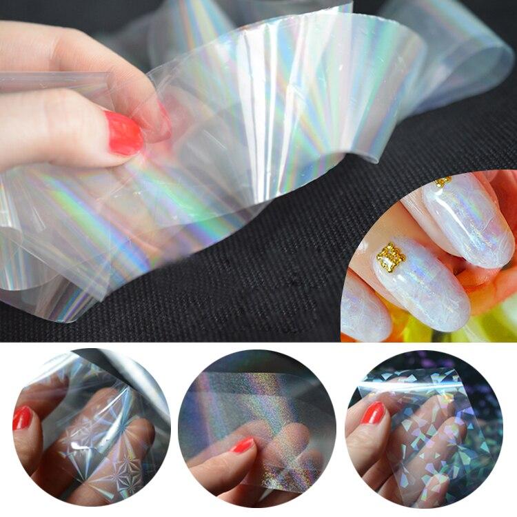 1pcs Fashion DIY Nail Art Tools Harajuku Stars Bright Nail Foil Sticker Art Polish Transfer Decal Beauty Craft Nail Decorations<br><br>Aliexpress