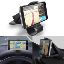 Car Phone Holder Stand Universal Car Dashboard Cell Phone GPS Mount Holder Stand HUD Design Cradle New for For iPhone 6 7 8 Plus(China)