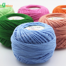 1pc 3# Lace Yarn 100% Cotton Yarn for Crocheting Fine Combed Yarn Using 2.5mm Crochet 50g/pc