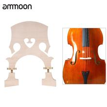 Standard Maple Bridge Replacement Part for 3/4 4/4 Size Double Bass Adjustable Upright Double Bass Bridge