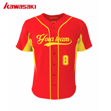Kawasaki Original Youth & Men Fans Custom Baseball Jersey Shirt 100% Polyester Softball Sports Team wear jerseys Shirts(China)