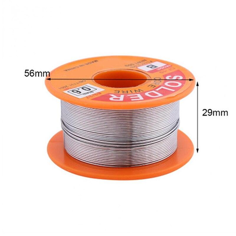 Tin lead Solder Wire Rosin Core Soldering 2% Flux Reel Tube LW Tin Wire Melt Rosin Core Solder Soldering Wire Roll 0.8 63/37 50g