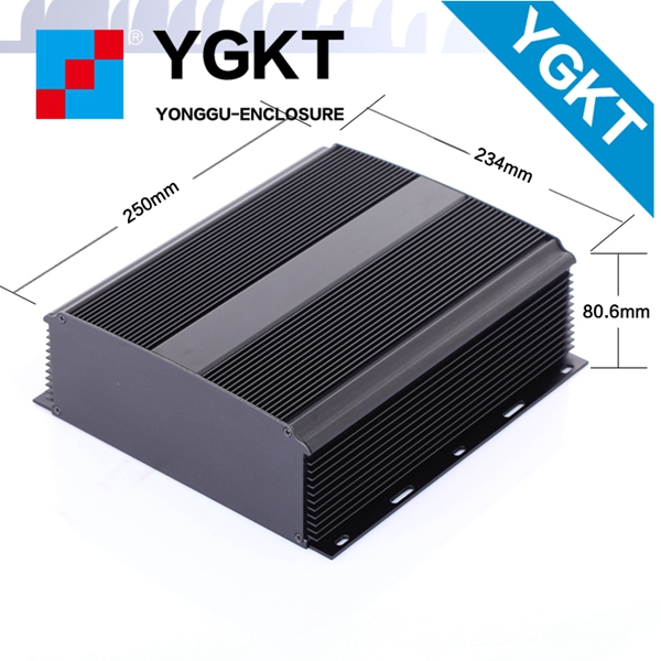234*80-250 mm  (W-H-L) aluminum box wall mounting enclosure for controller aluminium extrusion box<br>