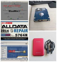 Alldata and Mitchell Software Alldata 10.53 + Mitchell on demand 2015 + Elsawin 5.2 + Vivid Workshop + 1tb usb hdd free shipping