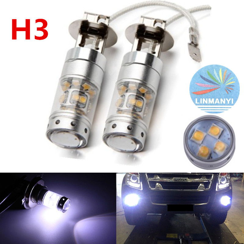 2pcs car led fog lamp H3 140W high power auto motorcycle Headlights DRL reverse lamps turn signals super bright led brake lights<br><br>Aliexpress