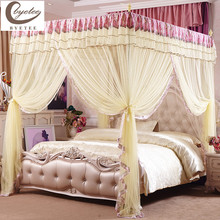 {Byetee} Quality Mosquito Net Tents for Double Bed Three Door Palace Bedding Curtains Canopies Adults Bed Canopy Canopies Adults