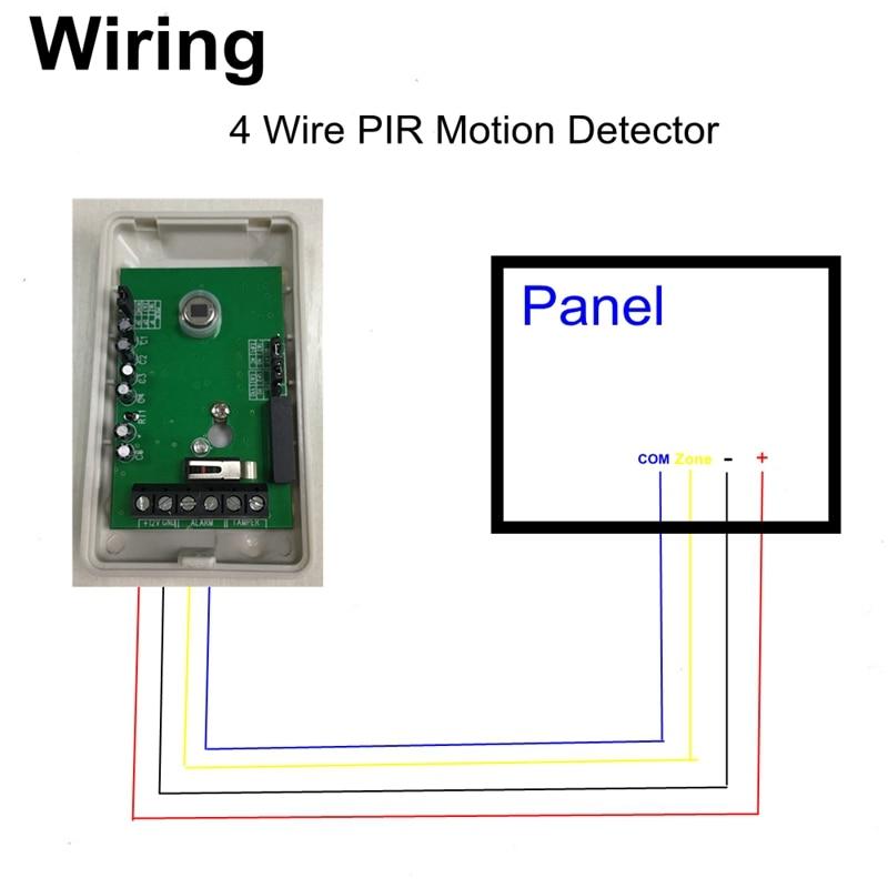 pir motion detector wiring diagram typical trailer wiring