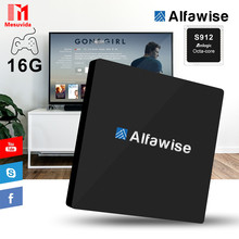 Mesuvida Alfawise S92 BT 4.0 TV Box Android 6.0 Amlogic S912 Octa-core VP9-10 H.265 Decoder Set Top Box 2.4G+5.8G Dual Band Wifi